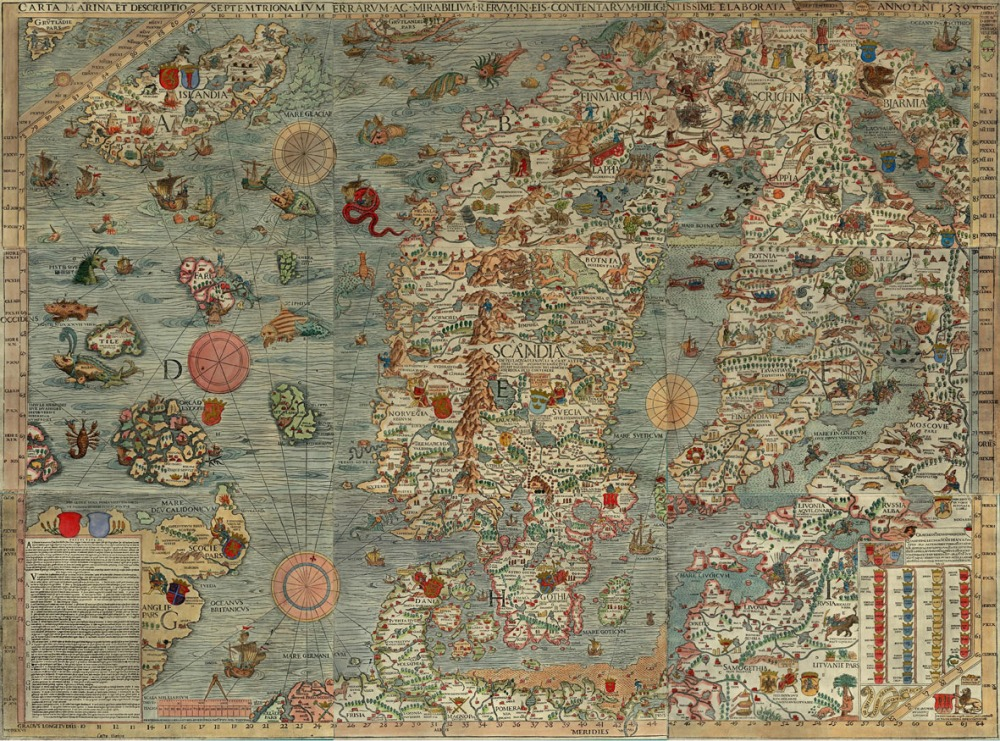 No Such Place: A Partial History of Imaginary Maps (1/2)
