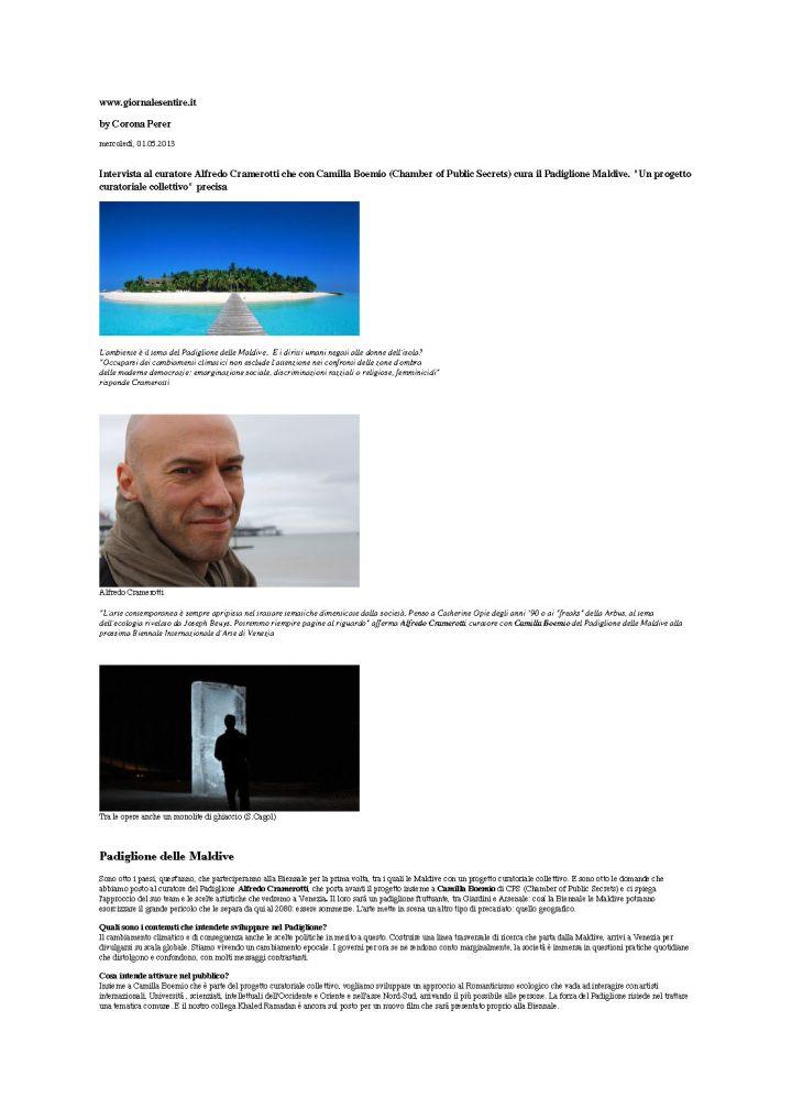 Giornale Sentire Intervista Alfredo Cramerotti_Page_1
