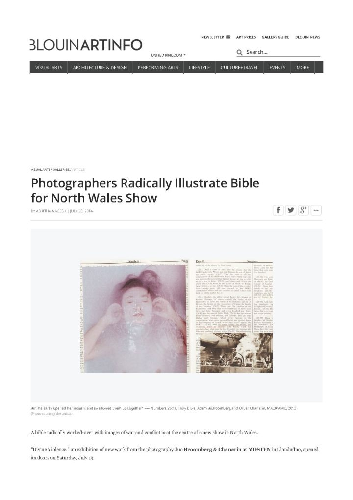 ARTINFO_Photographers Radically Illustrate Bible for North Wales Show_Page_1