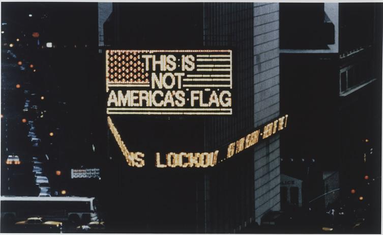 Alfredo-Jaar-Logo-for-America-1987