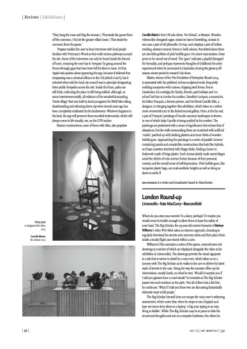 Art Monthly review November issue-2