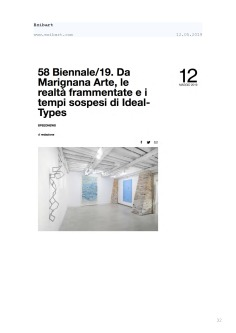 Rassegna Stampa selezionata_IDEAL-TYPES [Chapter 2]_Marignana Arte_Venezia, 2019_The Knack Studio_Page_32