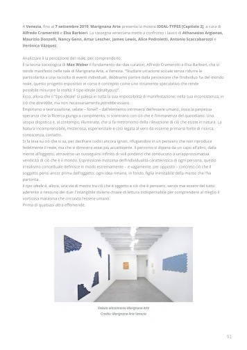 Rassegna Stampa selezionata_IDEAL-TYPES [Chapter 2]_Marignana Arte_Venezia, 2019_The Knack Studio_Page_51