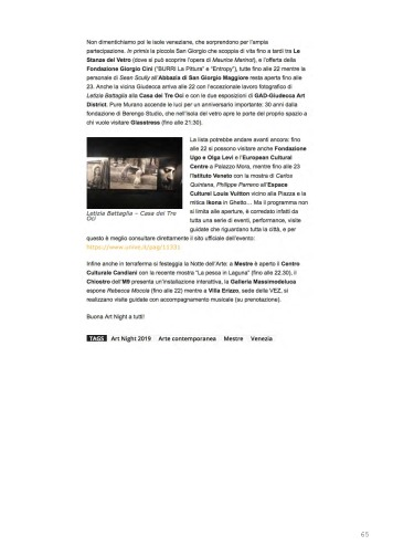 Rassegna Stampa selezionata_IDEAL-TYPES [Chapter 2]_Marignana Arte_Venezia, 2019_The Knack Studio_Page_65